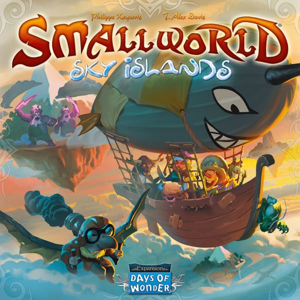 Small World: Sky Islands Expansion | Misty Mountain Games