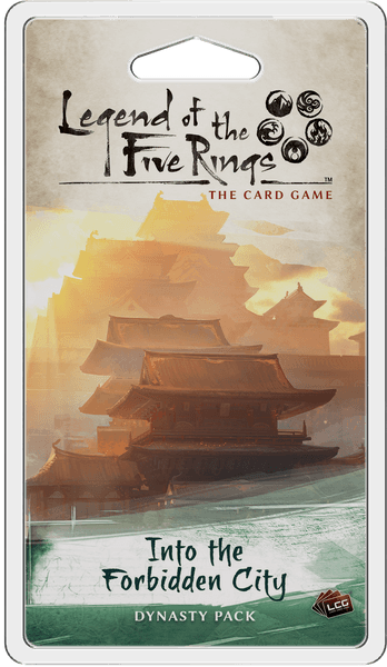 L5R LCG: Into the Forbidden City Dynasty Pack | Misty Mountain Games