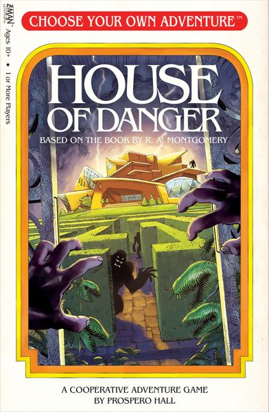 Choose Your Own Adventure: House of Danger | Misty Mountain Games