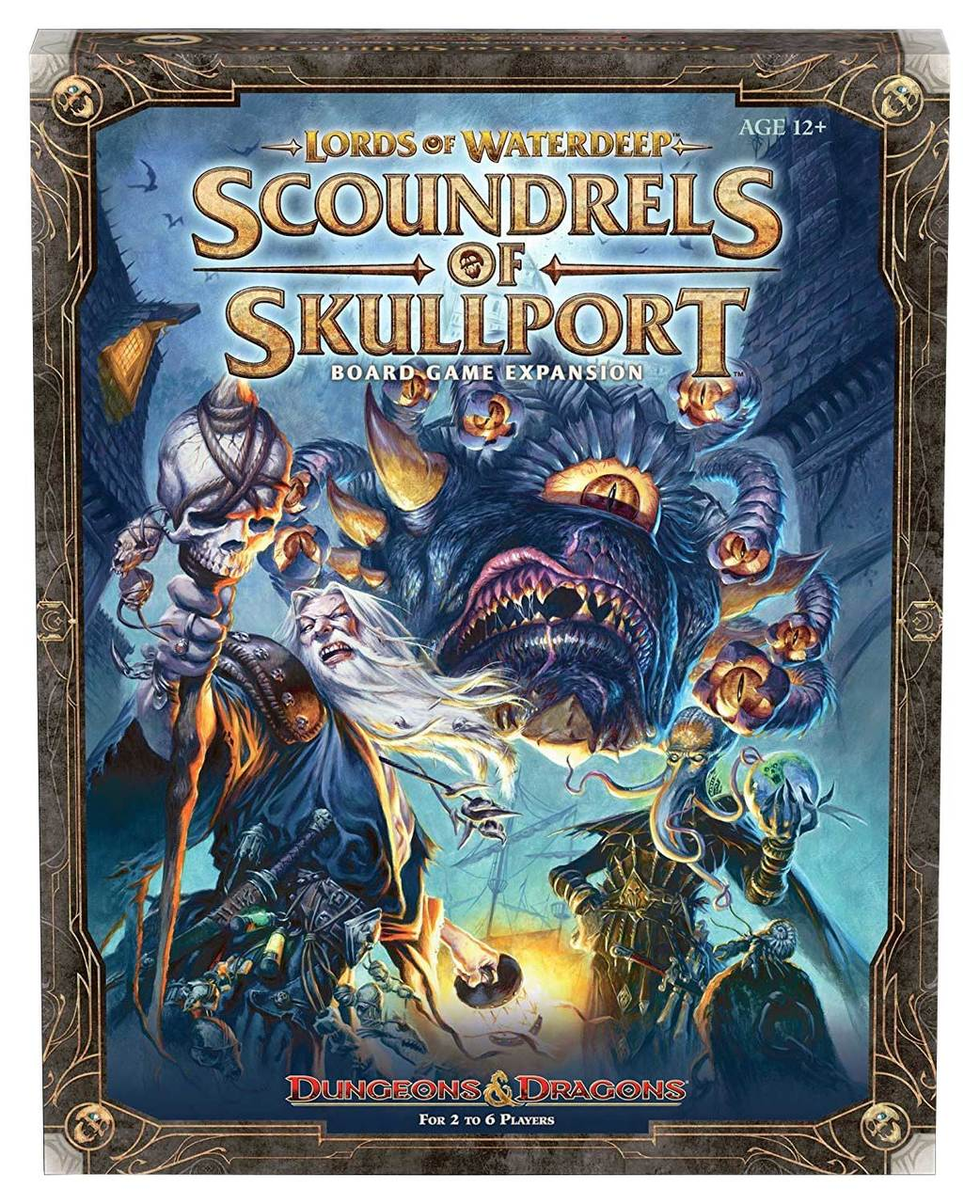 D&D Lords of Waterdeep: Scoundrels of Skullport | Misty Mountain Games