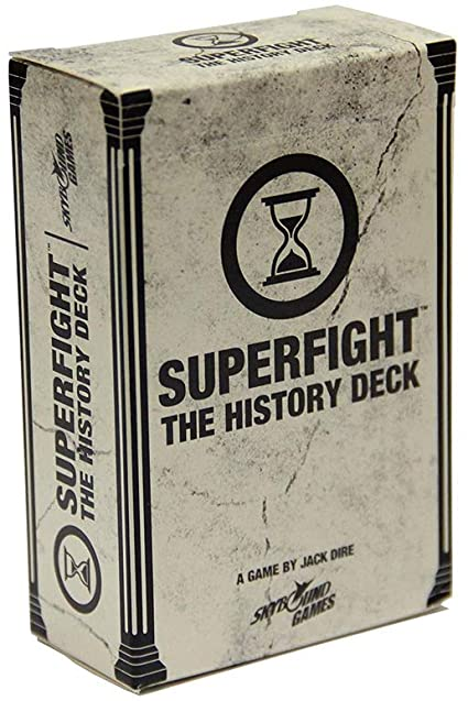 Superfight: The History Deck | Misty Mountain Games