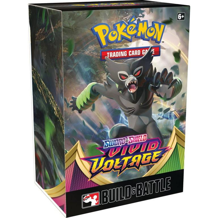 Pokemon: S&S 04: Vivid Voltage: Build & Battle Prerelease Kit | Misty Mountain Games