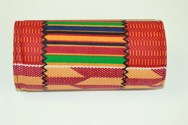 African Print Ketiyu Mini Purse- Back