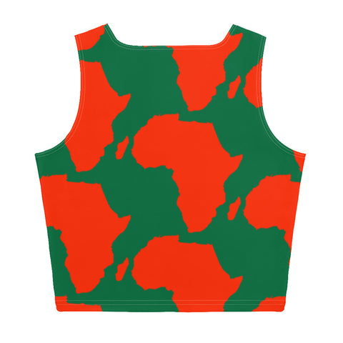 AFRICA Sublimation Cut & Sew Crop Top (Xmas edition)