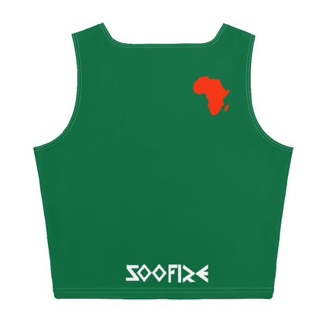 AFRICA Sublimation Cut & Sew Crop Top (Xmas edition) Style 2