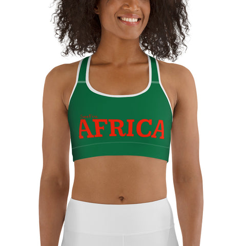 AFRICA by SooFIre Sports bra Xmas Edition
