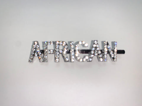 "*New Bling ""AFRICAN"" by SooFire (Hair) Pin"