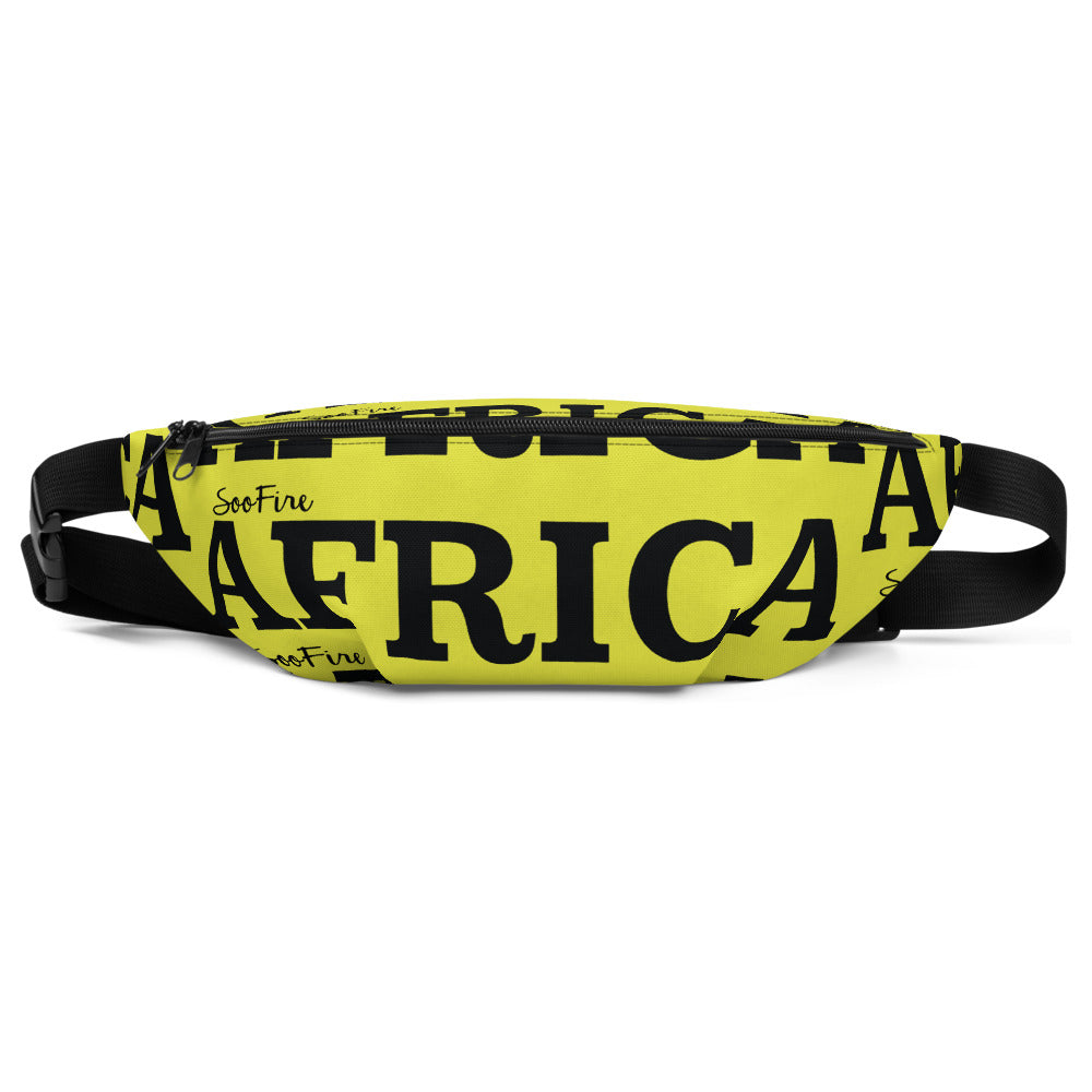 AFRICA Fanny Pack by SooFire (Neon)