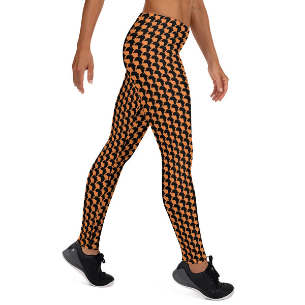 AFRICA By SooFire Leggings Style 2 (ORANGE)
