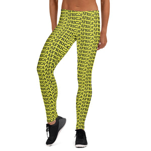 AFRICA By SooFire Leggings Style 3 (NEON)