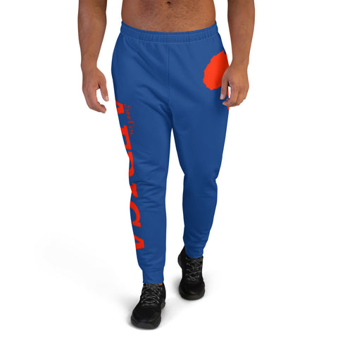 Men's AFRICA Joggers (Red/ Blue)