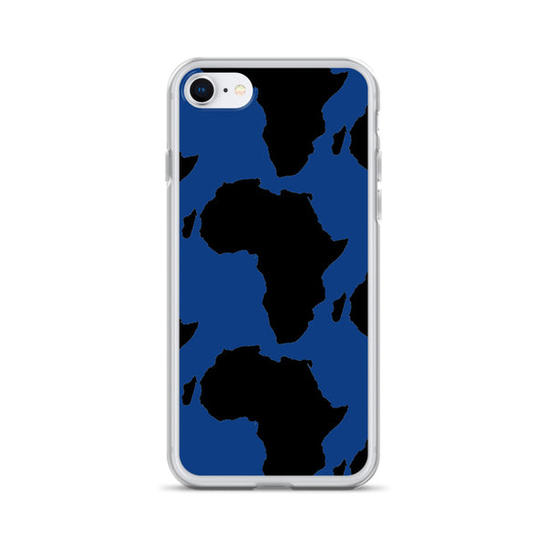 AFRICA iPhone Case Style 2 (BLUE)