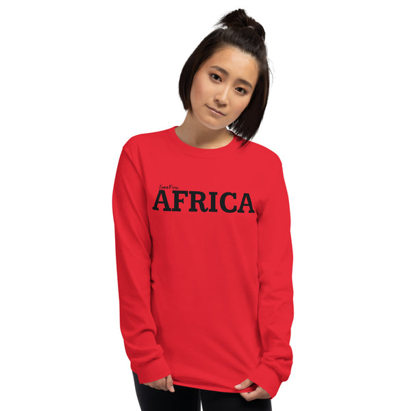 AFRICA Unisex Long Sleeve Shirt (3 Colors)
