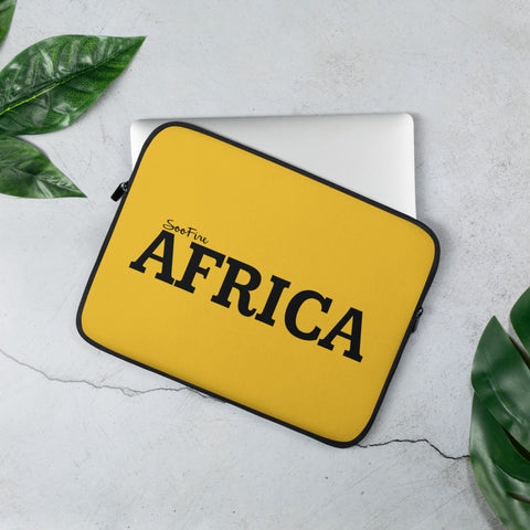 AFRICA Laptop Sleeve (YELLOW)