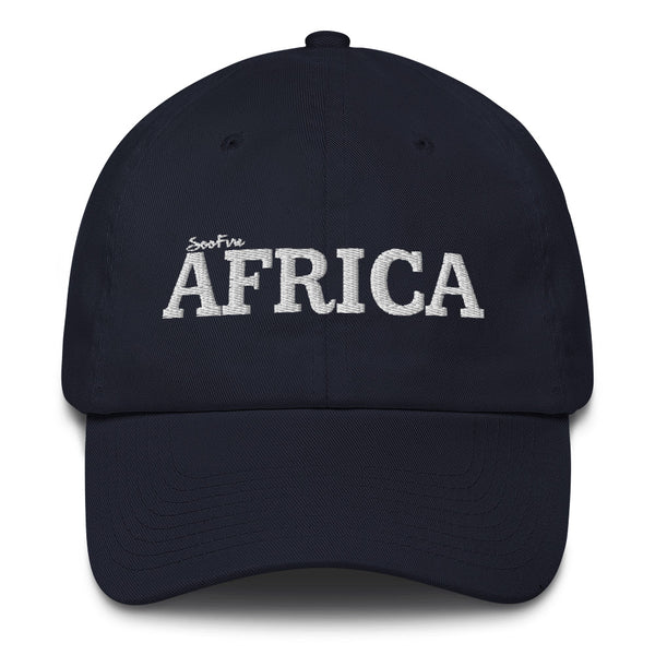 AFRICA Cotton Cap (WHITE)