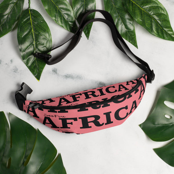 AFRICA Fanny Pack By SooFire (Pink)