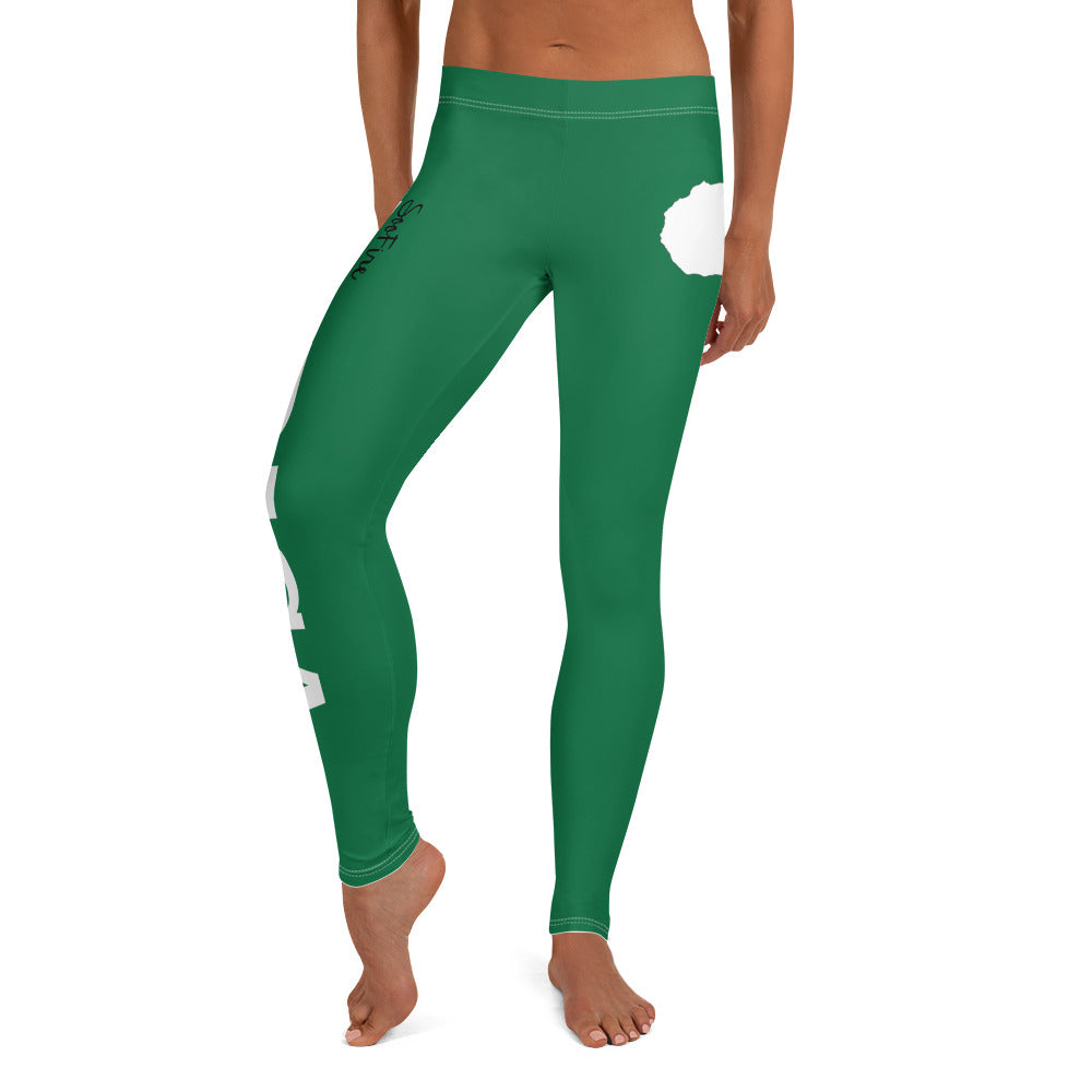 AFRICA By SooFire Leggings (GREEN)