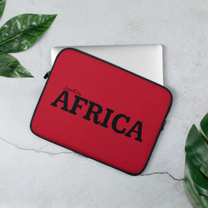 AFRICA Laptop Sleeve (BLACK/RED)