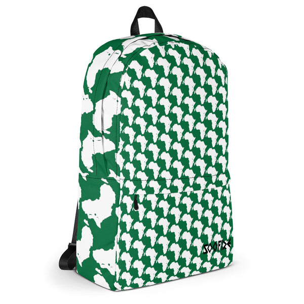 AFRICA Backpack Naija Green Style 2