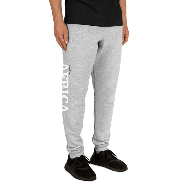 AFRICA Unisex Joggers (Right Leg)