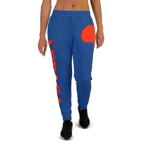 Women's AFRICA  Joggers (Red/Blue)