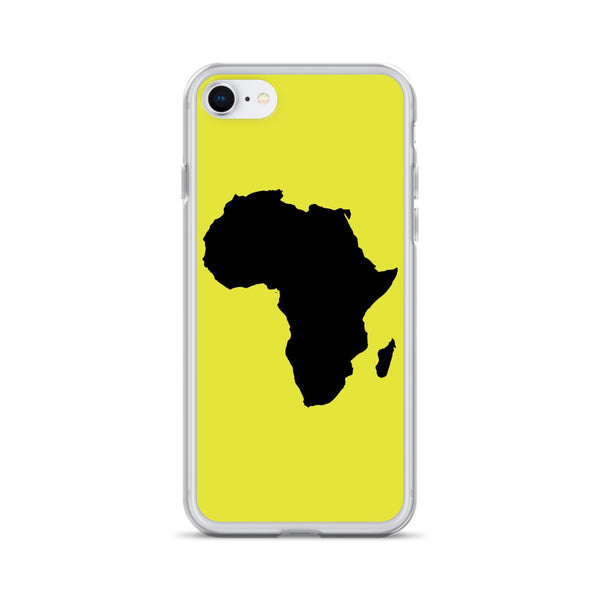 AFRICA iPhone Case (NEON)