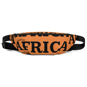 AFRICA Fanny Pack by SooFire (Orange)