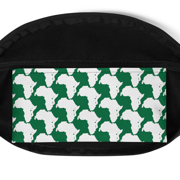 AFRICA CONTINENT Fanny Pack By SooFire (Green) Style 2