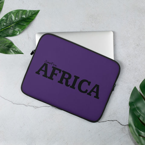 AFRICA Laptop Sleeve (PURPLE)