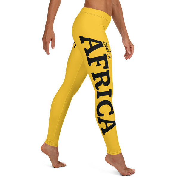 AFRICA By SooFire Leggings (YELLOW)