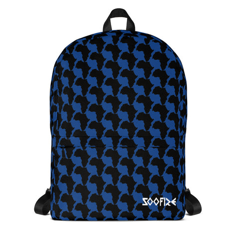 AFRICA Backpack Blue