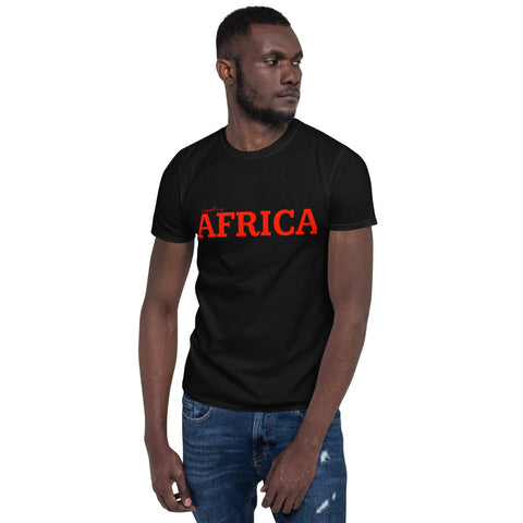 AFRICA by SooFire Short-Sleeve Unisex T-Shirt (Red/Black)