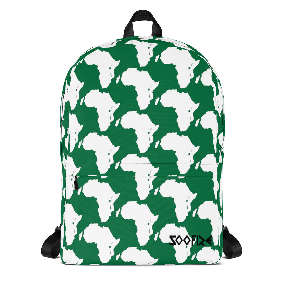 Naira Green Backpack