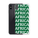 AFRICA Green iPhone Case