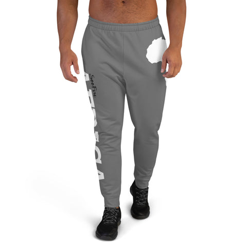 Men's AFRICA Joggers (White/Grey)