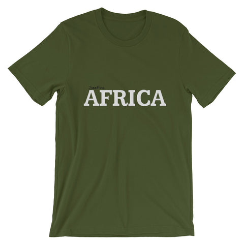 AFRICA Short-Sleeve Unisex T-Shirt (6 colors)