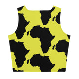 AFRICA Sublimation Cut & Sew Crop Top (NEON)