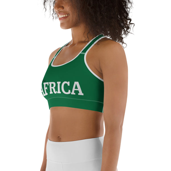 AFRICA Naija Green Sports bra