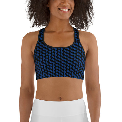 AFRICA By SooFire Sports bra Style 2 (BLUE)