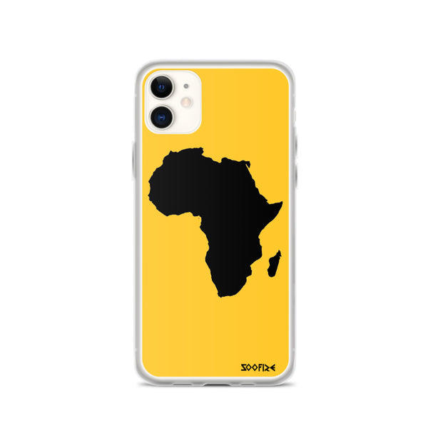AFRICA iPhone Case (YELLOW)