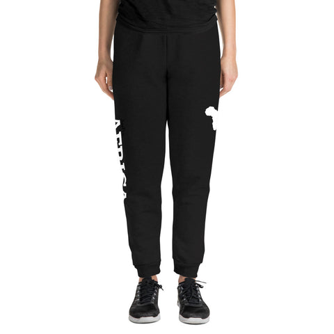 AFRICA Unisex Joggers (Right Leg) Pants Bottoms