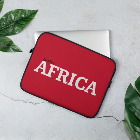 AFRICA Laptop Sleeve (RED)