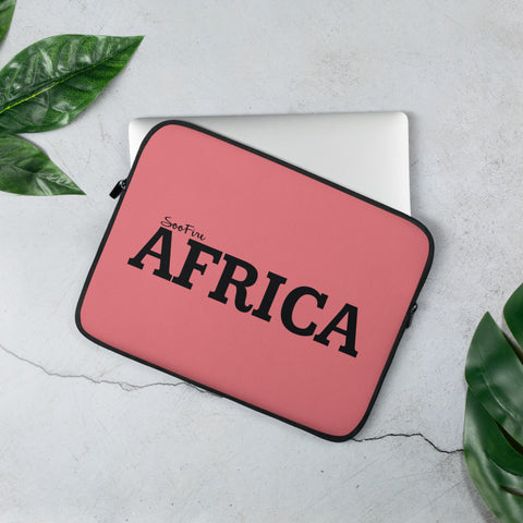 AFRICA Laptop Sleeve (PINK)