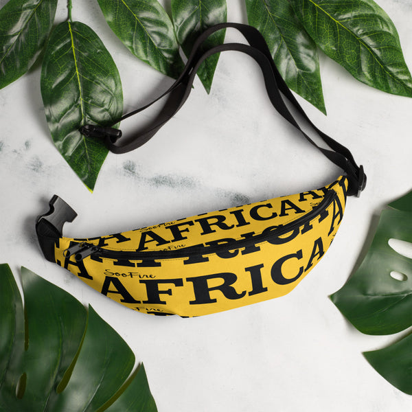 AFRICA Fanny Pack by SooFire (YELLOW)