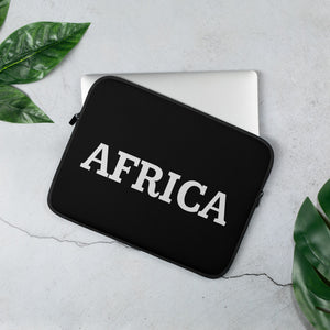 AFRICA Laptop Sleeve (BLACK)
