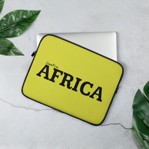 AFRICA Laptop Sleeve (NEON)