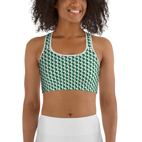 AFRICA By SooFire Sports bra Style 2 (GREEN)