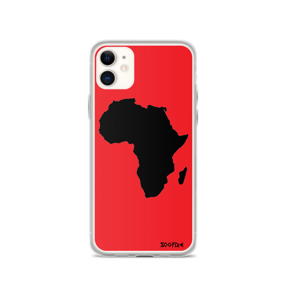 AFRICA iPhone Case (RED)