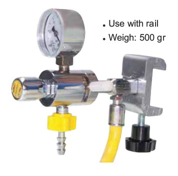 Vacuum Regulator with Rail