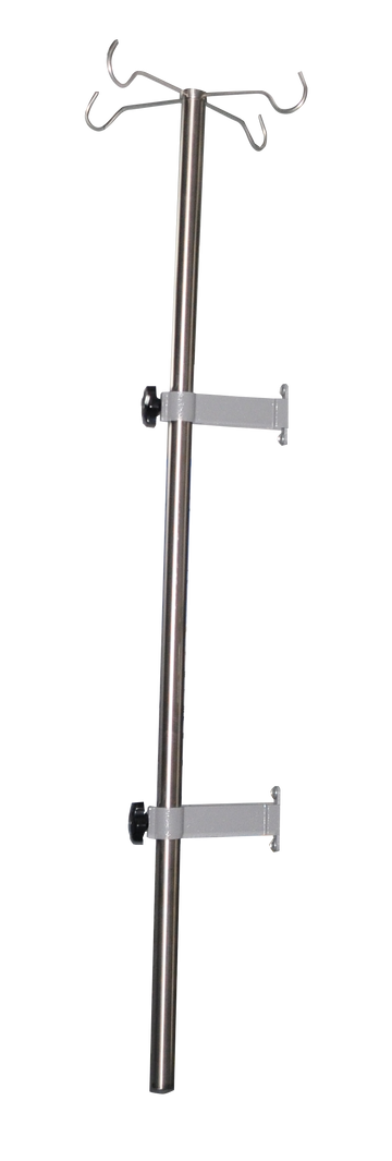 Vertical Rod with Iv Hooks